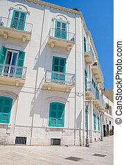 Palace in Bari Oldtown. Apulia