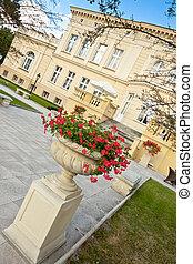 Palace in Ostromecko - Poland.