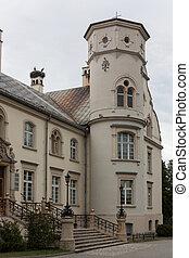Palace in Przyszowice.