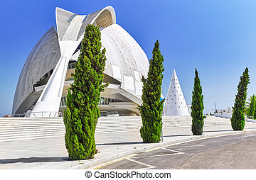 Palace of Arts (El Palau de les Arts Reina Sofia) - Valencia...