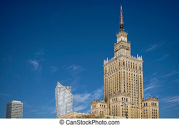 Palace of Culture and Science in Warsaw Poland