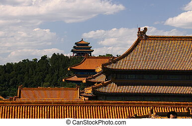 Palace of Forbidden City eaves
