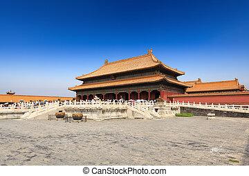 palace of heavenly purity in beijing forbidden city