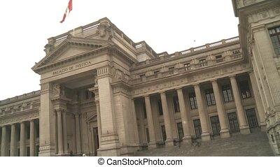 Palace Of Justice, Lima, Peru