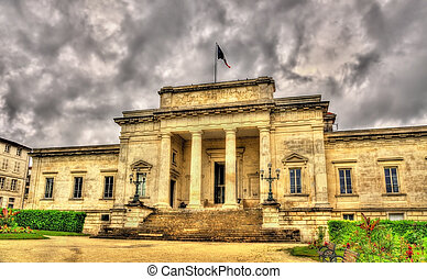 Palace of justice of Saintes - France, Charente-Maritime