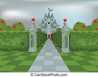 Palace of Queen of Hearts - Palace of Queen of Hearts in...