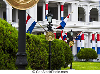 Palace of the President, Asuncion Paraguay