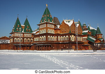 Palace of Tsar Alexei Mikhailovich - Russia, Moscow. The...