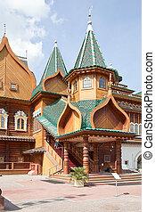 Palace of tsar of Aleksey Mikhailovich Romanov. Parade porch...
