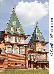Palace of tsar of Aleksey Mikhailovich Romanov - Recreated...