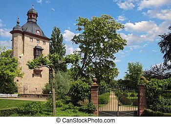 Palace of Vollrads in the Rheingau, Hesse, Germany