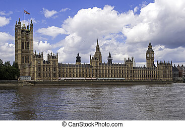 Palace of Westminster. - House of Commons, Palace of...