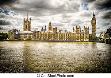Palace of Westminster, Houses of Parliament, London