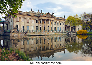 Palace on the Water / Warsaw - Warsaw's Royal Baths Park....
