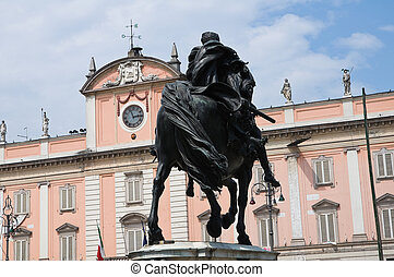 palace., piacenza., italy., governor's, emilia-romagna.