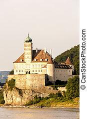 Palace Schonbuhel on the Danube river, Lower Austria, Austria