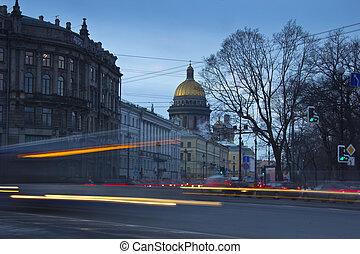 Palace square , St. Petersburg, Rus