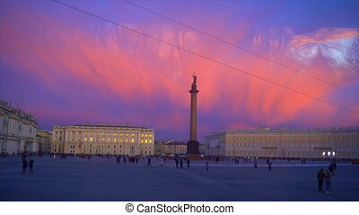 Palace Square The best shots in St. Petersburg. Winter...