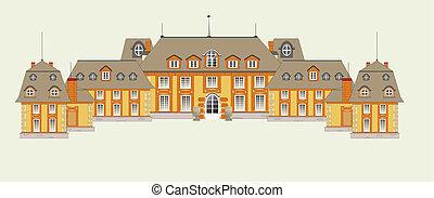 palace, vector