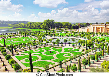 Palace Versailles, Royal Orangery.Paris, France.