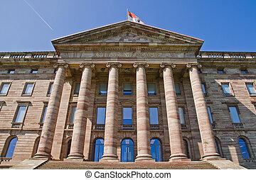 Palace Wilhelmshoehe in Kassel, Germany