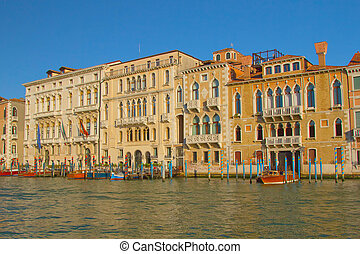 Grand Canal in Venice (Italy)