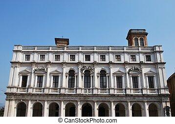 palacio, bergamo, biblioteca