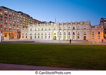 "Palacio de la Moneda, ""La Moneda"", Chile's presidential and..."