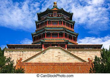 palacio de verano, china, beijing