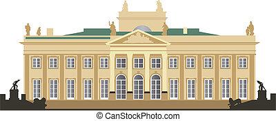 palacio, lazienki