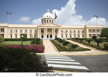 palacio nacional the national palace santo domingo dominican republic beautiful government building
