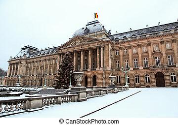 palacio, real, bruselas
