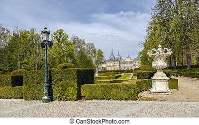 palacio real, la, granja, de, san, ildefonso