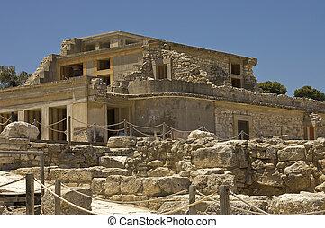 palacio, ruinas