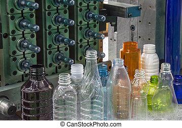 palack, műanyag