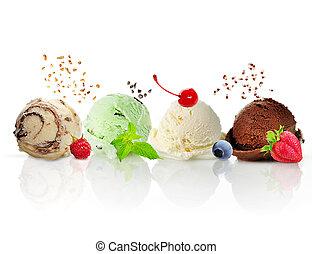 paladas de helado