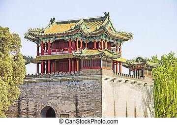 palais été, porcelaine, beijing, célèbre