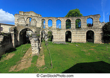palais, (2, anfiteatro, gallien, francia, romano, bordeaux,...