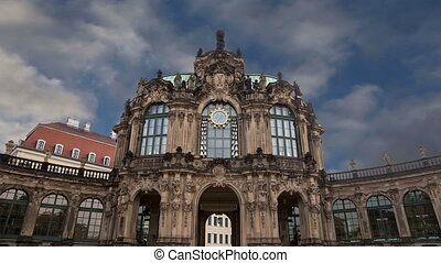 palais, allemagne, zwinger, dresde