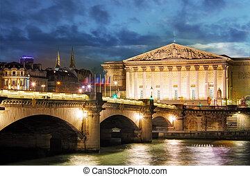 Palais Bourbon - French Parliament, Paris, Assemblee ...