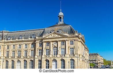 Palais de la Bourse in Bordeaux, France