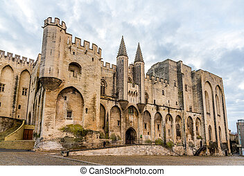 palais, des, サイト, フランス, papes, 相続財産, ユネスコ, avignon