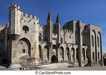 Palais des Papes - Avignon - France - Palais des Papes in...