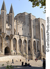 Palais des Papes, Avignon - France, Palais Des Papes in...