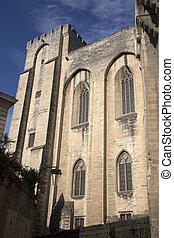 Palais des Papes Palace, Avignon, France