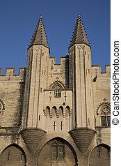 Palais des Papes - Palace of the Popes, Avignon, France
