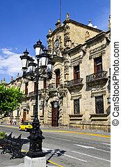 palais, mexique, gouvernement, guadalajara, état, jalisco