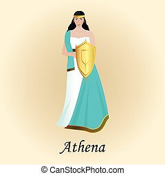 palas athena minerva goddess of wisdom greek roman.