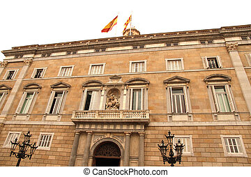 Palau de Generalitat in Barcelona