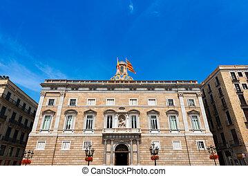 Palau de la Generalitat - Barcelona Spain